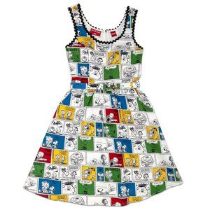 Stitch Shoppe By Loungefly Peanuts Comic Dress